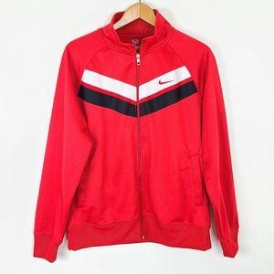 Retro Mens Chevron Red Nike Jacket XL